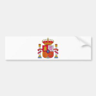 Spain Coat of Arms Bumper Sticker