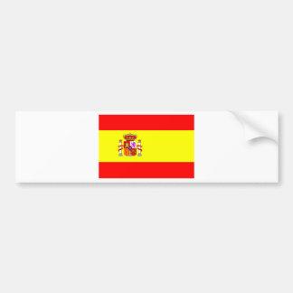 Spain flag bumper sticker