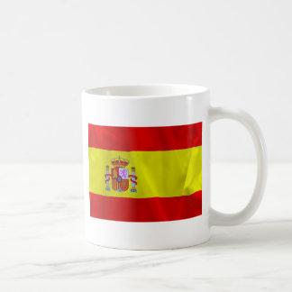 Spain Flag Basic White Mug