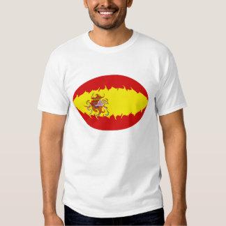 Spain Gnarly Flag T-Shirt