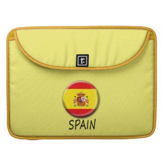 Spain Macbook Pro Sleeves