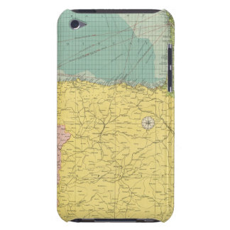 Spain, Portugal, Western France iPod Touch Case