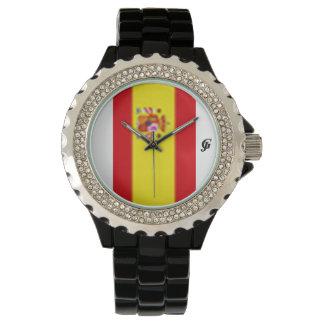 Spain Rhinestone Sport Watch
