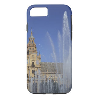 Spain, Sevilla, Andalucia Fountain and ornate iPhone 8/7 Case