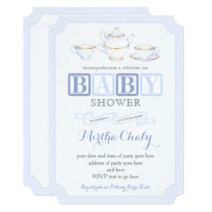 In Spanish Baby Shower Invitations Zazzle Co Nz