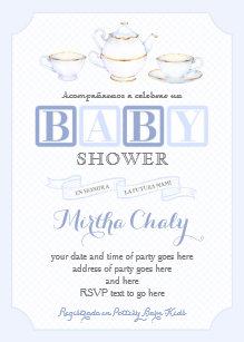 In Spanish Baby Shower Invitations Zazzle Co Nz