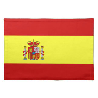 Spanish Flag Bandera Española Gifts Placemat