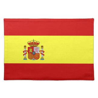 Spanish Flag Bandera Española Place Mat