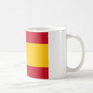 Spanish Flag Basic White Mug