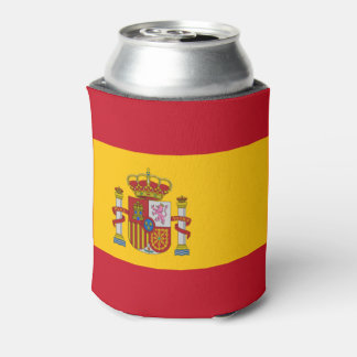 Spanish flag can cooler