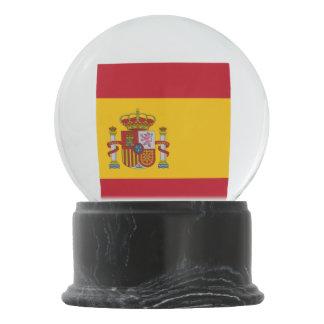 Spanish flag snow globes