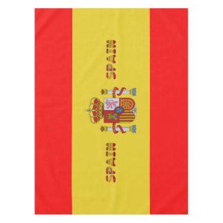 Spanish flag tablecloth