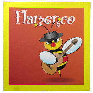 Spanish flamenco Napkins