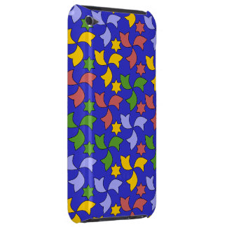 Spanish Geometric Pattern - Navy Blue iPod Touch Case-Mate Case