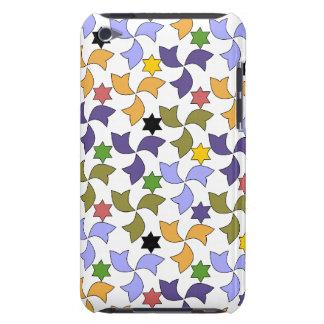 Spanish Geometric Pattern - White iPod Touch Case