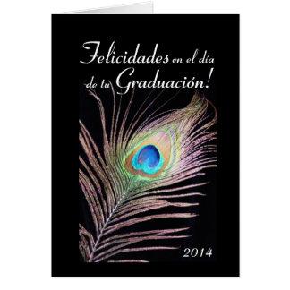 Spanish:Graduacion / 2014 Graduation Greeting Card