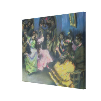 Spanish Gypsy Dancers, 1898 Canvas Print