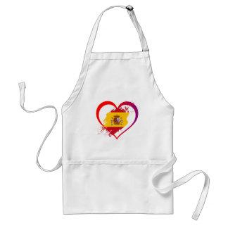 Spanish heart standard apron