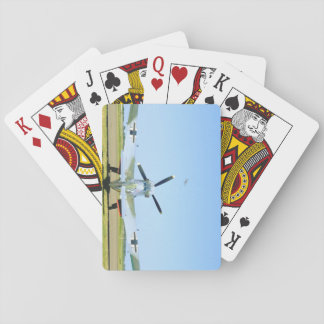 Spanish Messerschmitt ME 109, Rear_WWII Planes Playing Cards