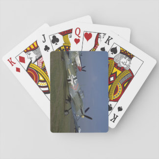 Spanish Messerschmitt ME 109,Right_WWII Planes Playing Cards