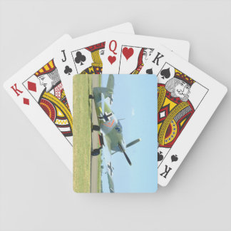 Spanish Messerschmitt ME 109_WWII Planes Playing Cards