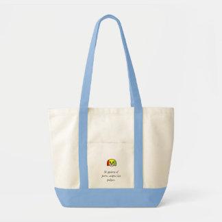 Spanish quotes tote bag