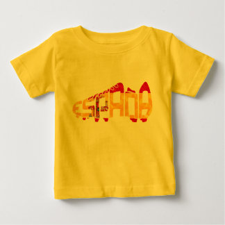 Spanish Soccer Cleat Baby T-Shirt