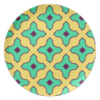 Spanish Tile Design Plate