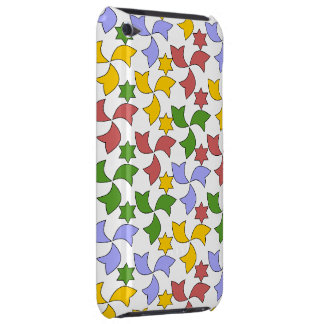 Spanish Tile Mosaic Pattern - White Barely There iPod Covers