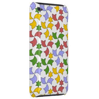 Spanish Tile Mosaic Pattern - White iPod Case-Mate Case