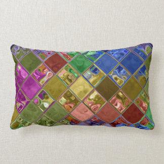 Sparkle Gems Mosaic Art Pillows ~ home decor gift