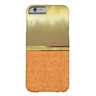 Sparkles iPhone 6 Gold Design Case Barely There iPhone 6 Case