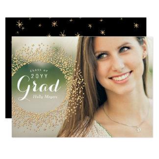 Sparkling Grad Photo Card