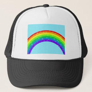 Sparkling Rainbow Trucker Hat