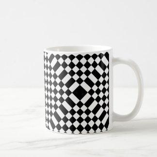 Sparkly Mugs Party Fun Tableware Checkerboard 9b
