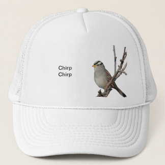 Sparrow on a branch Hat