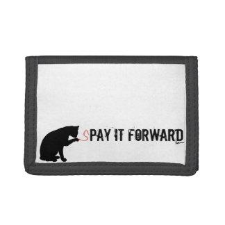 sPAY IT FORWARD Tri-fold Wallet
