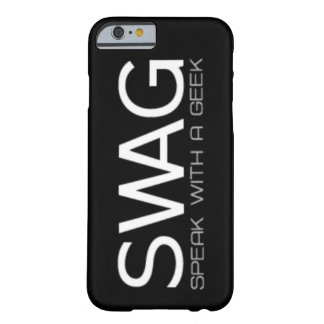 Speak With A Geek Barely There iPhone 6 Case