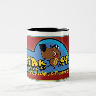 speakboy.com, Art, Design, & Illustration, Two-Tone Coffee Mug