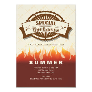 Special Barbecue Invitation