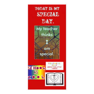 Special Day bookmarks BMSPD Rack Card