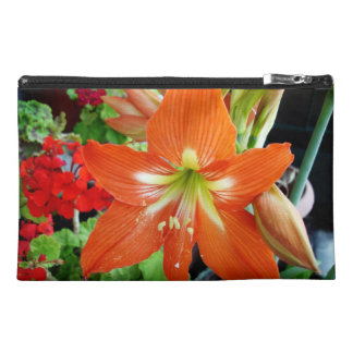 Special Design Hand Bag With Amaryllis Flower