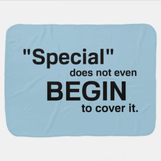 Special Does Not Even Begin To Cover It Baby Blanket