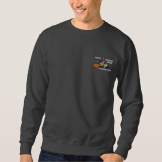 Special Edition Cabernet CHA Sweat Roger Embroidered Sweatshirts
