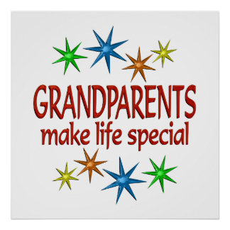 Special Grandparents Poster