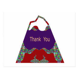 Special Thank You -  Oriental Lips Postcard