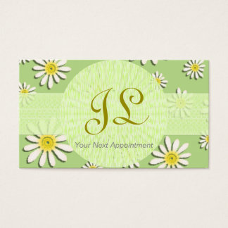 Specialist Appointment Card/ U-pick Color/Daisy Business Card