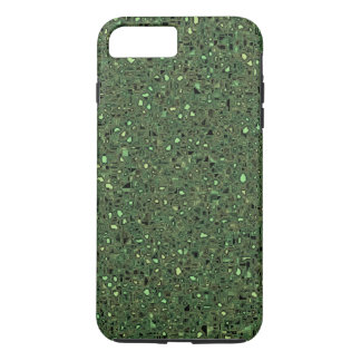 Speckled Computer Circuit Board Pattern Texture iPhone 8 Plus/7 Plus Case