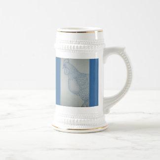 Speckled Rooster Large Mug By Mandi Bleyl