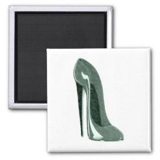 Speckled Stiletto Shoe Art Magnets